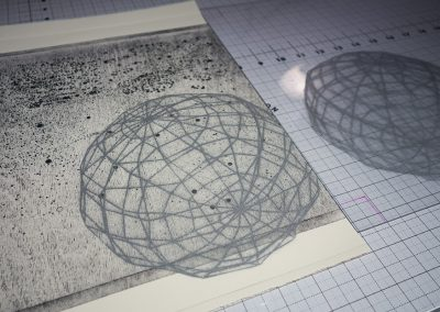 printing the sphere plate